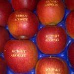 Gravírovanie do jablka